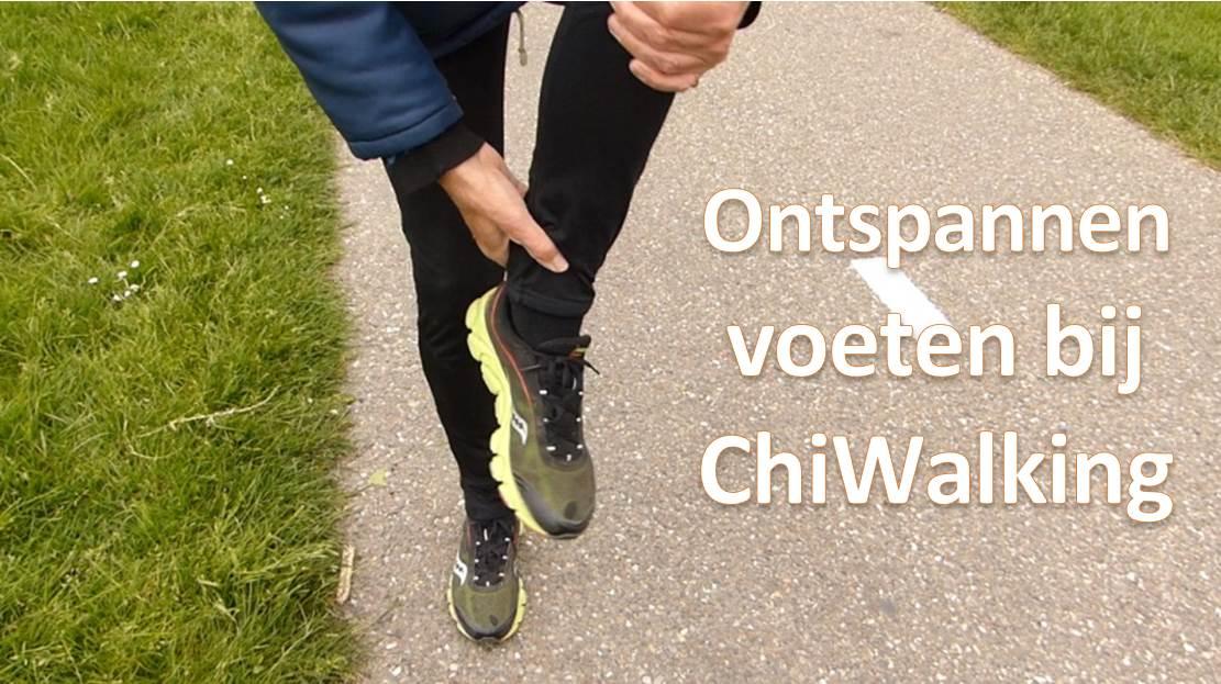 Ontspannen voeten bij ChiWalking