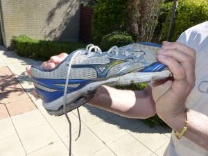 welke schoen voor chiwalking